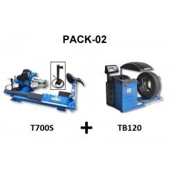 PACK 02 PL T700S + TB120...