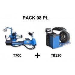 PACK 08 PL  T700 + TB120...