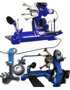 Tire changer machines, HGV & construction