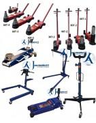 Trolley jacks, pit jack, workshop crane